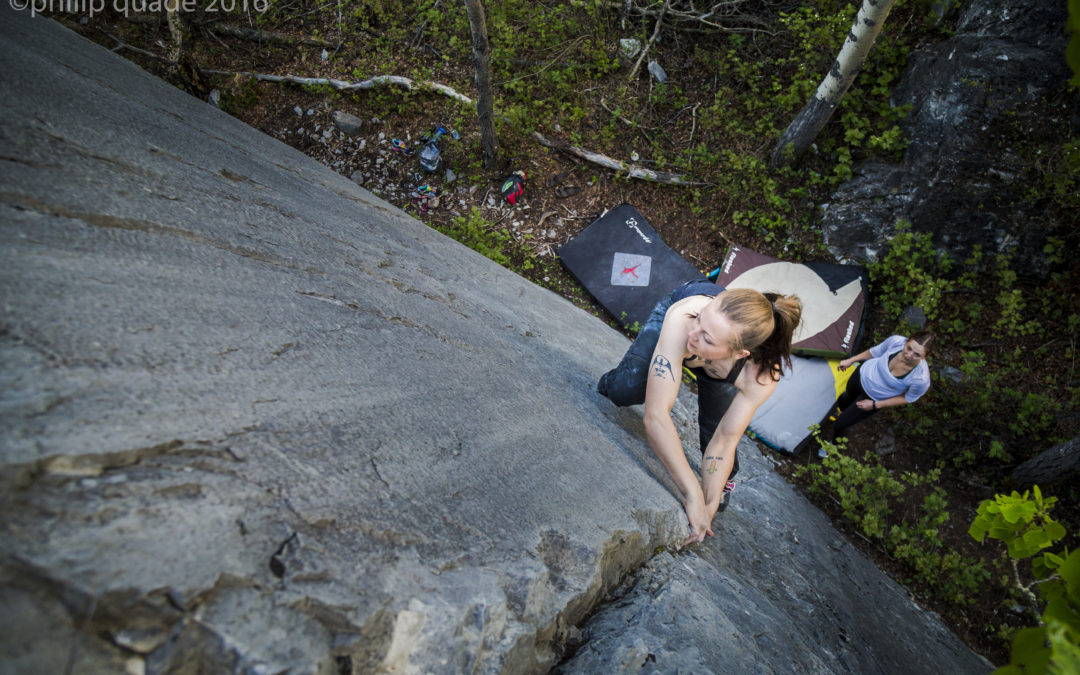 Live Out There Exclusive: Big Choss – Alberta Bouldering: A Beginner's Guide